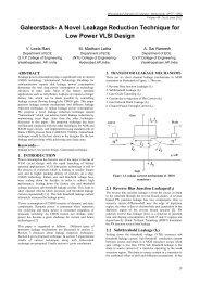 A Novel Leakage Reduction Technique for Low Power VLSI Design