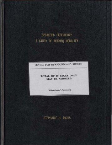 Download (21Mb) - Memorial University Research Repository ...