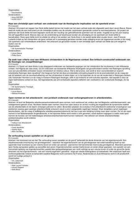 Onderzoeksprojecten (160 - 180 van 326)