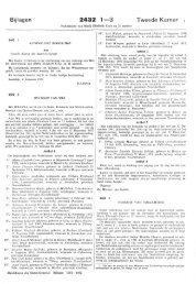 Bijlagen 2432 1—3 Tweede Kamer i