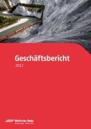 Download Geschäftsbericht 2012 - RhB