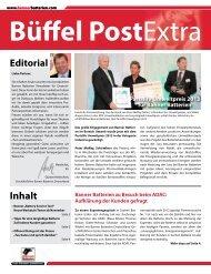 Büffelpost Extra Ausgabe D 09.2013 (0.4 Mb) - Banner GmbH