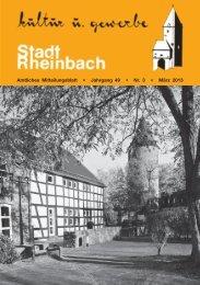 März 2013 - Rheinbach
