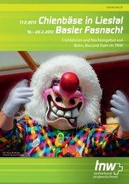 TNW Fasnacht-Fahrplan 2013 - BLT