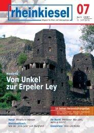 Von Unkel zur Erpeler Ley - Rheinkiesel