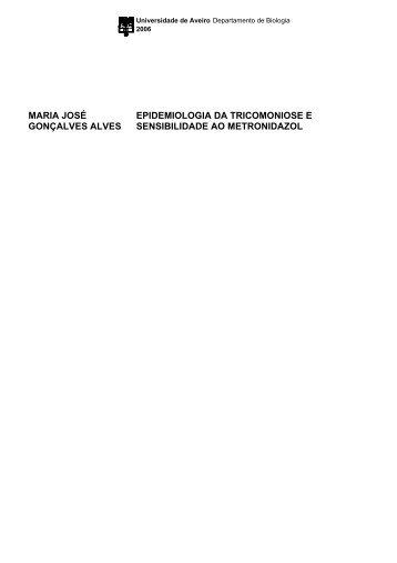 maria josé gonçalves alves epidemiologia da tricomoniose e ...