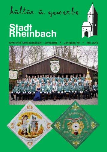 Mai 2013 - Rheinbach