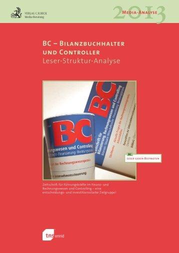 BC – Bilanzbuchhalter und Controller Leser-Struktur-Analyse