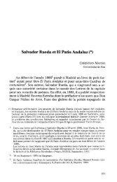 Salvador Rueda et El Patio Andaluz (*) - RUA