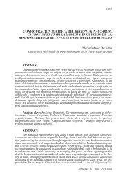 Configuración jurídica del receptum nautarum ... - Ruc UDC