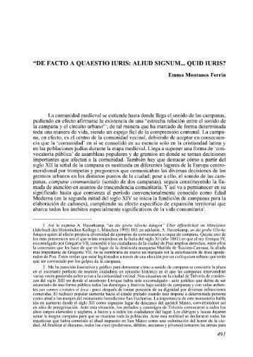 """""""De facto a quaestio iuris: aliud signum... quid iuris?"""" - Ruc UDC"""