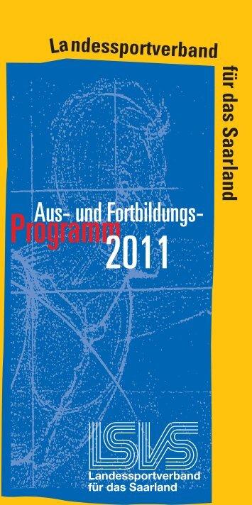 Aus- und Fortbildung 2011