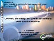 Overview of Buildings Energy Efficiency Policies in IEA member ...
