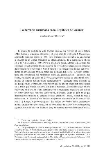 05-LA HERENCIA.indd - Biblioteca SAAVEDRA FAJARDO de ...