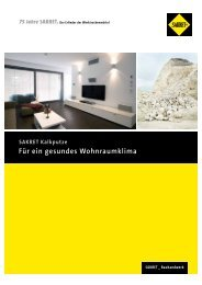 Für ein gesundes Wohnraumklima - Sakretgmbh.de