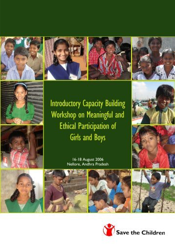 Introductory Capacity Building Workshop on Meaningful and Ethical ...