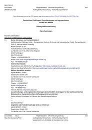 Download der vollständigen EU Bekanntmachung ... - Völklinger Hütte