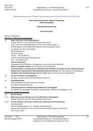 Digitale Plattform SHS Strukturholding Saar GmbH