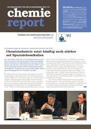 chemie report 03/2012 - Verband der Chemischen Industrie e.V.