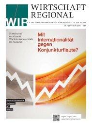 PDF - Wirtschaft Regional epaper
