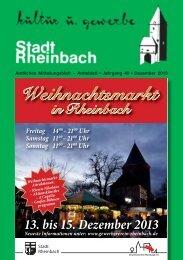 Dezember - Rheinbach