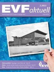 Kundenmagazin 2 / 2013 - Energieversorgung Filstal GmbH & Co. KG
