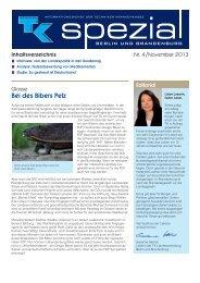 TK spezial Ausgabe 4 - November 2013 (PDF, 313 KB ) - Techniker ...