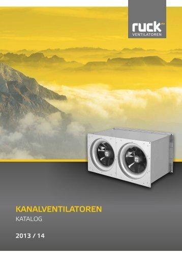 Kanalventilatoren - ruck Ventilatoren