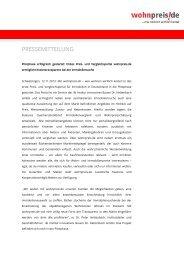 PRESSEMITTEILUNG - institut innovatives bauen