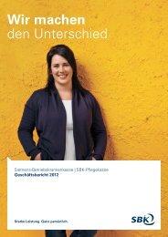 Geschäftsbericht 2012 - SBK