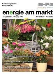 vorherige Kundenzeitung - Bad Honnef AG
