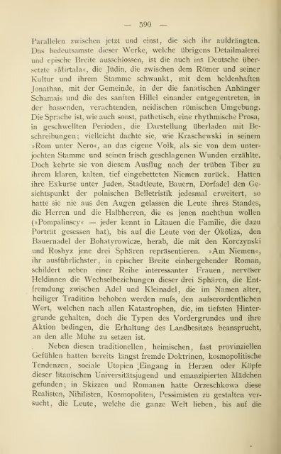 Geschichte der polnischen Litteratur