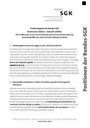 Kommunen stärken – Zukunft schaffen Zehn ... - Bundes-SGK