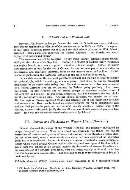 Title Carl Schmitt and Fascism: Schmitt, Germany and ... - HERMES-IR