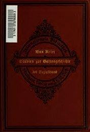 Wegweiser; Studien zur Geistesgeschichte des Sozialismus