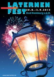 Programmheft 2013 - Laternenfest Bad Homburg