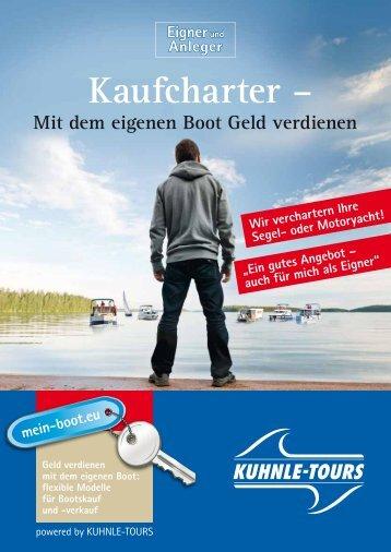 Hausboot-Kaufcharter - Kuhnle-Tours