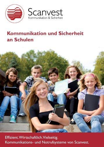 """""""Kommunikation und Sicherheit an Schulen"""" (PDF) - Scanvest"""