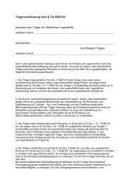 Vereinbarungsmuster zu 72a - Landesjugendring Saar