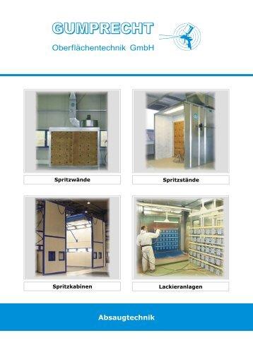 Absaugtechnik - Gumprecht Oberflächentechnik GmbH