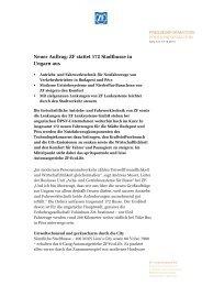 Pressetext herunterladen (PDF, 336 KB) - ZF Friedrichshafen AG