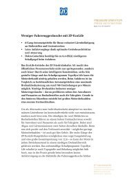 Weniger Fahrzeuggeräusche mit ZF-EcoLife (PDF, 105 KB)
