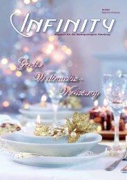 Große Weihnachts- Verlosung - Infinity Magazin