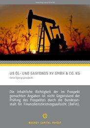 us öl- und gasfonds xv gmbh & co. kg - Fondsvermittlung24.de
