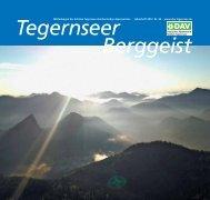 Berggeist 2012 - DAV Sektion Tegernsee