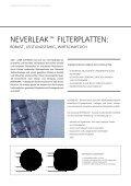 NEVERLEAK™ FILTERPLATTEN - GKD - Gebr. Kufferath AG - Seite 2