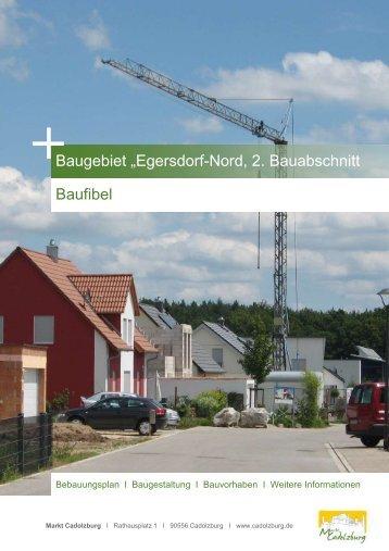 Baufibel - Markt Cadolzburg