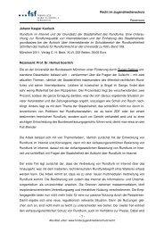 Rezension: J. K. Kunisch - FSF