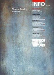 FES-Info 2013, Nr. 2 - Bibliothek der Friedrich-Ebert-Stiftung