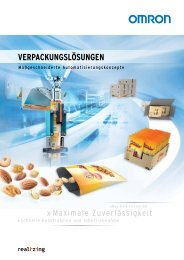 Verpackungslösungen - Omron Europe